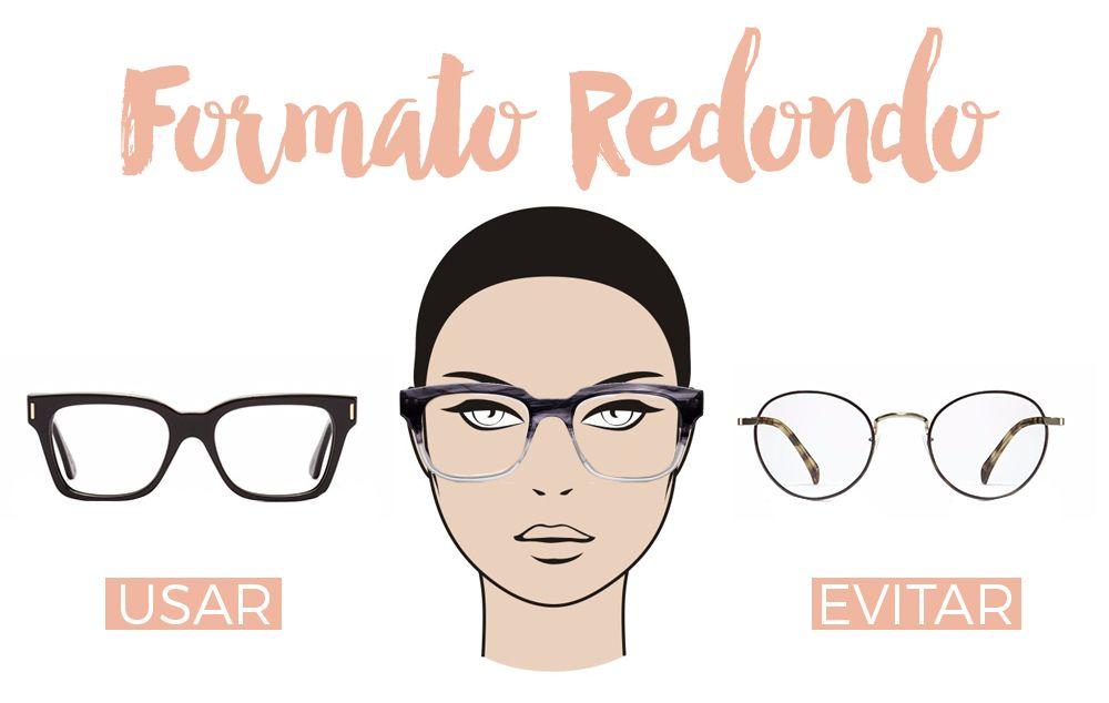ae8ab33f07d30 formato-rosto-redondo Armação De Óculos Feminino