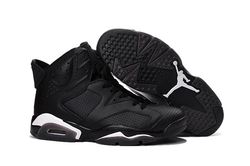 Buy Big Discount 2016 Air Jordan 6 \u201cBlack Cat\u201d Black/Black-White FCWtc from  Reliable Big Discount 2016 Air Jordan 6 \u201cBlack Cat\u201d Black/Black-White FCWtc  ...