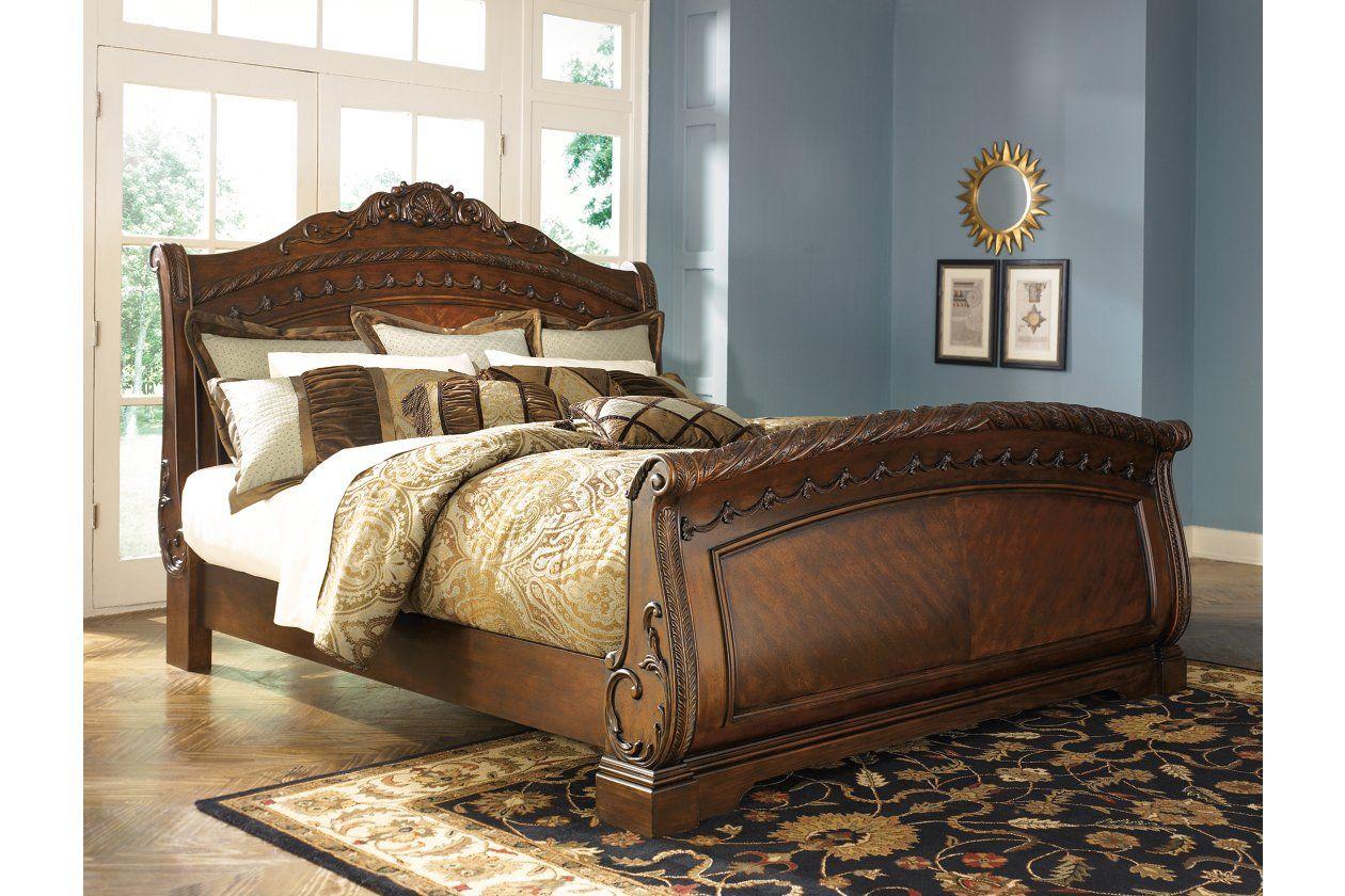 - North Shore Queen Sleigh Bed In 2020 Design, Inspo