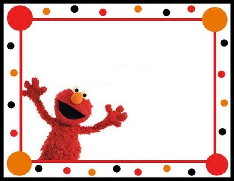 Elmo 1st Birthday Clip Art