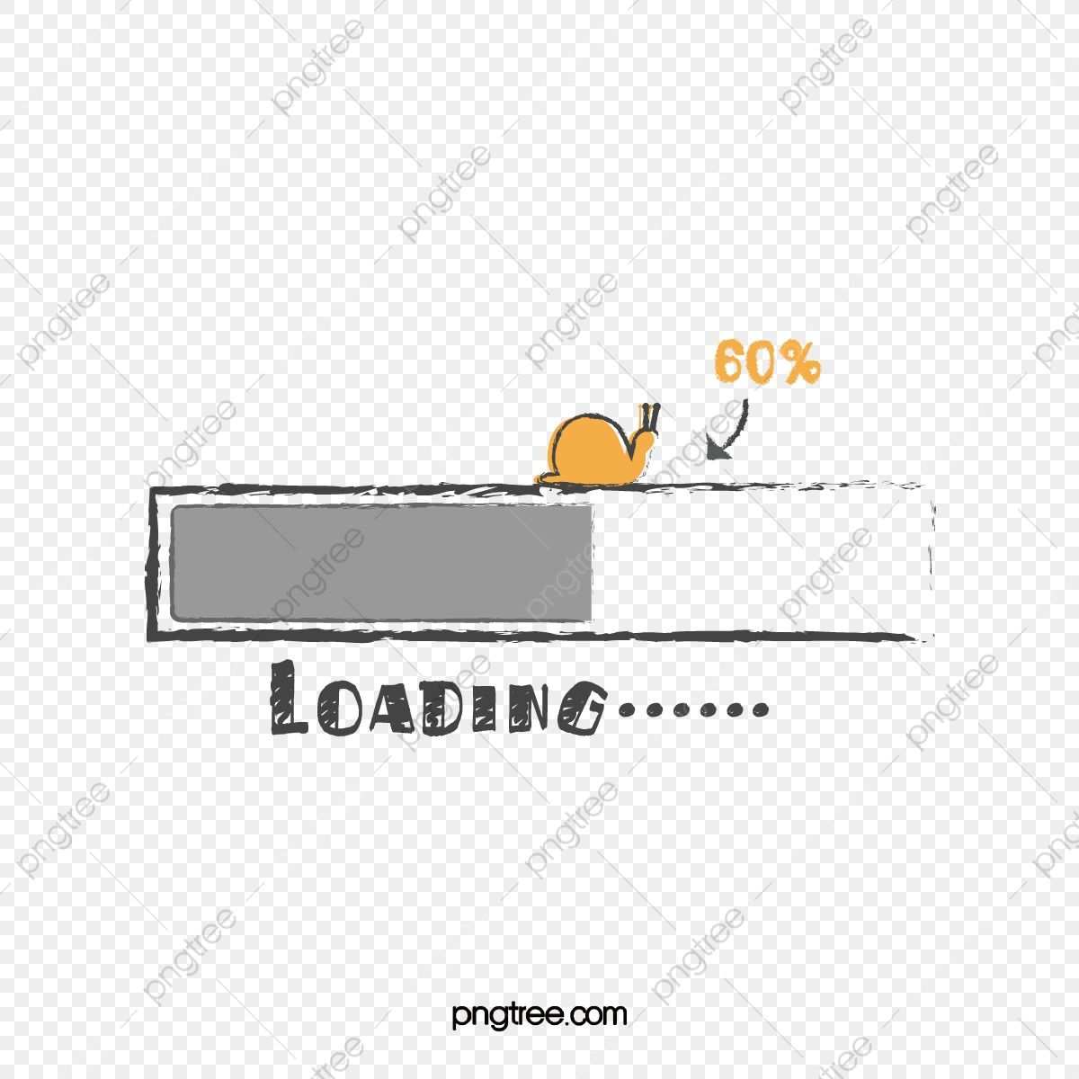 Simple Hand Painted Snail Loading Progress Bar Hand Painted Snail Progress Bar Png And Vector With Transparent Background For Free Download Progress Bar Hand Painted Progress