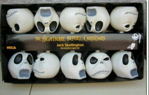 Nightmare before christmas (jack) decorative lights made by NECA