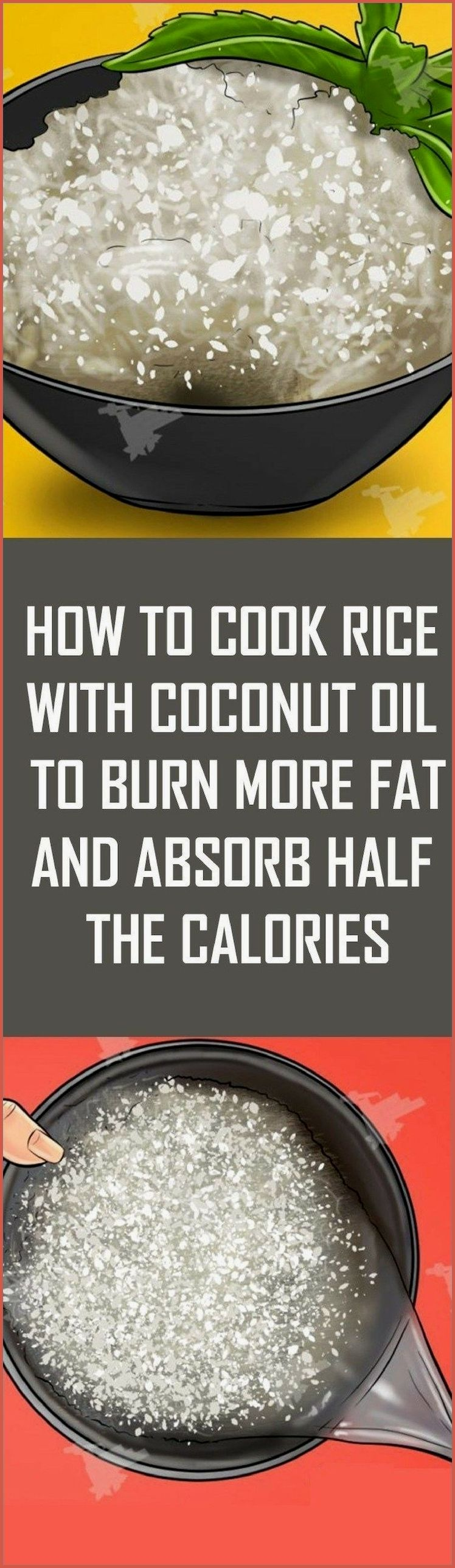 Learn How To Cook Rice With Coconut Oil To Burn Mo