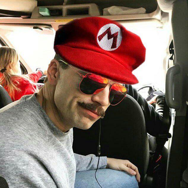 Sebastian  is the new Mario Bros