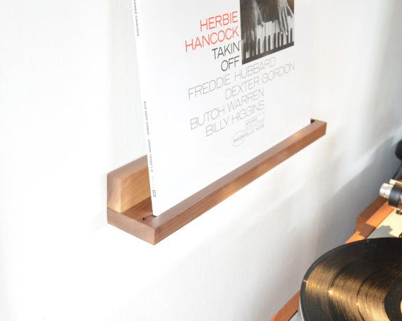 Your Place To Buy And Sell All Things Handmade Record Display American Walnut Vinyl Shelf
