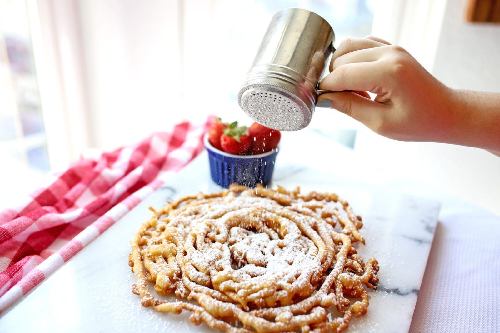 Funnel cake fried dough recipe recipe funnel cake