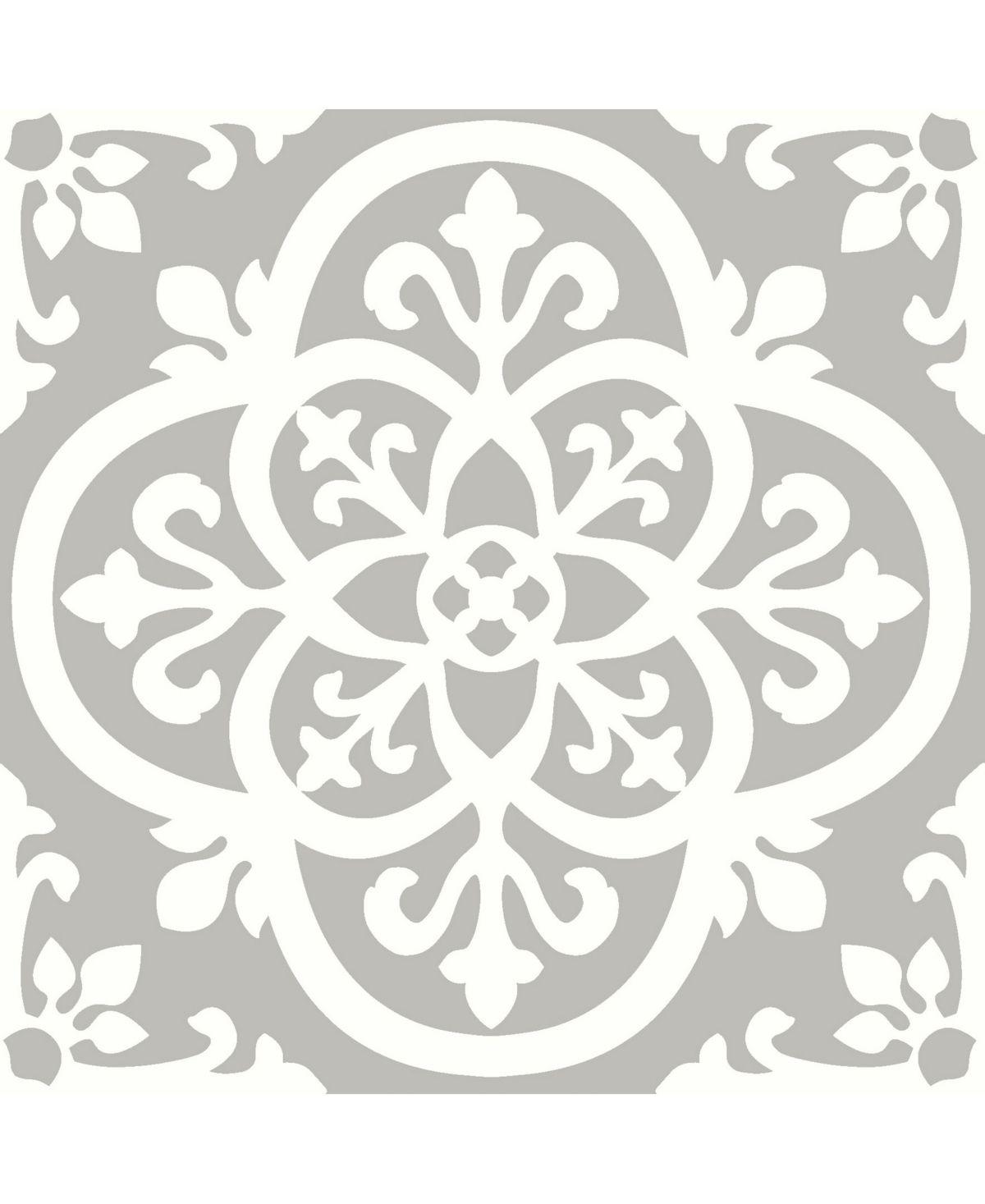 Floorpops Wallpops Medina Peel Stick Floor Tiles Reviews Home Macy S In 2020 Peel And Stick Floor Vinyl Tile Tile Floor