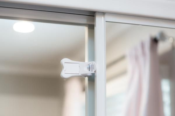 Sliding Door Locks Are Awesome For Closets Showers And Any Door That Slides Babyproof Your House Baby Proofing Sliding Doors Patio Door Locks