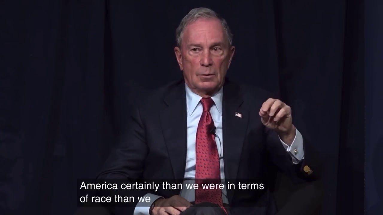 Mike Bloomberg Blaming Segregation On Barack Obama Youtube In 2020 Barack Barack Obama First Black President