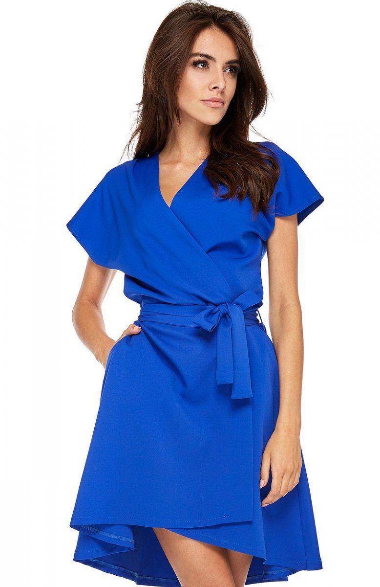 8b4518cfa9c91 Ooh lala Vogue sukienka chabrowa Fantastyczna sukienka idealna zarówno do  biura jak i na spotkania z