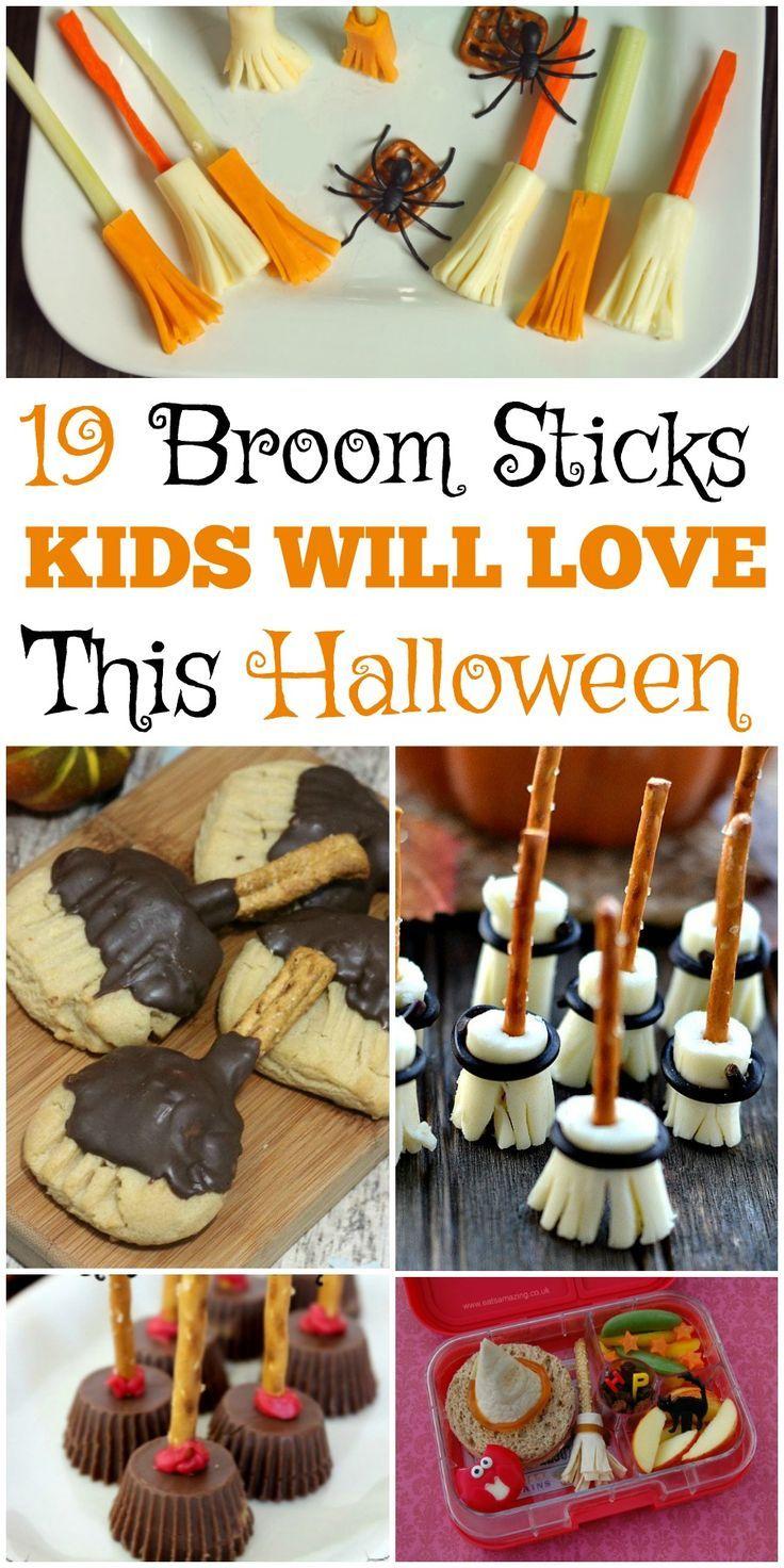 19 Broomstick Snacks Kids Will Love This Halloween