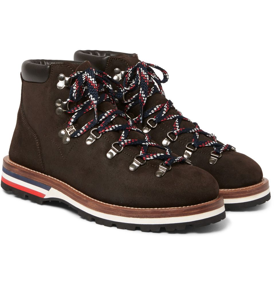 6bcd02a28bd Moncler - Peak Nubuck Hiking Boots | BOYS- Boots | Hiking boots ...