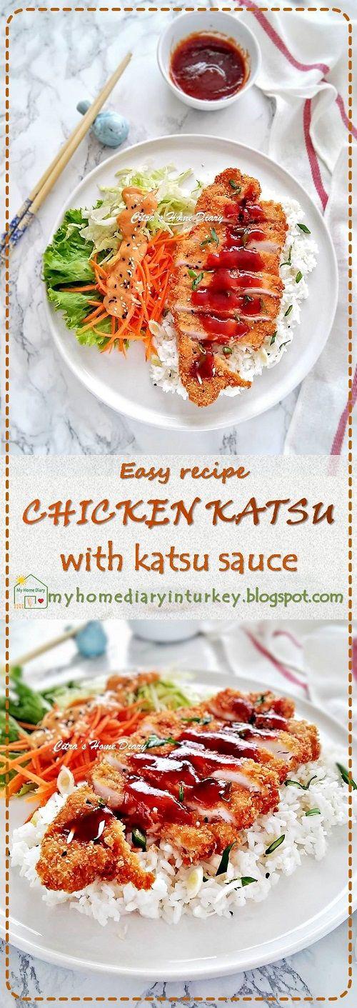 Resep Chicken Katsu Dan Sausnya Chicken Katsu Recipe With Katsu Sauce Resep Masakan Jepang Resep Ayam Sehat Resep Ayam Panggang
