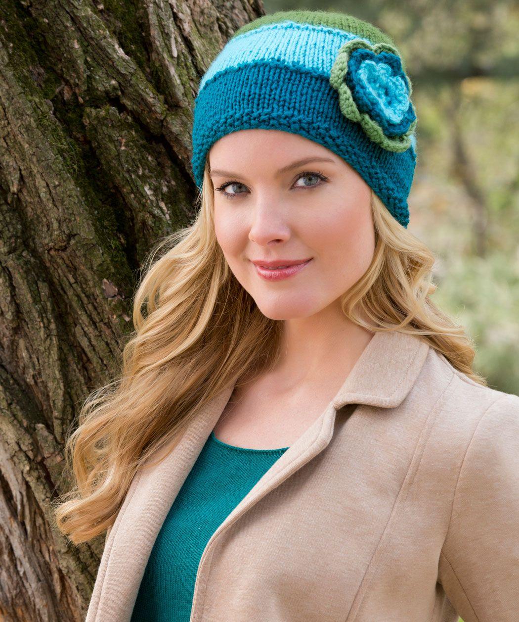 Hat In Bloom | Knit | Pinterest | Gorros, Gorro tejido y Tejido