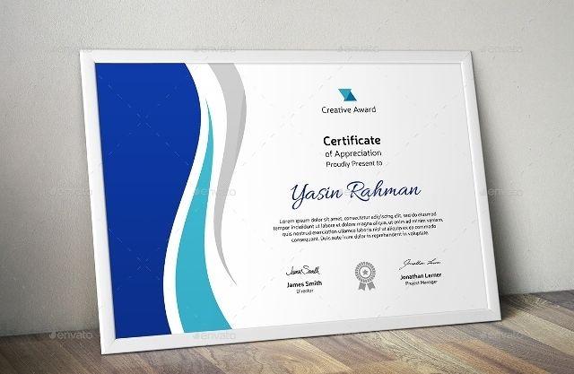 Creative Certificate Template Madara Pinterest Certificate