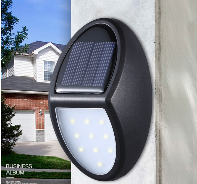High Quality Outdoor Gate Garden Led Wall Mounted Small Solar