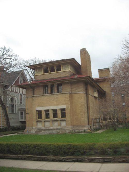 Frank Lloyd Wright House Hyde Park Chicago Hyde Park Chicago
