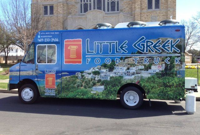 Dallass First Ever Gyro Mobile Deliciousness Food Truck Food