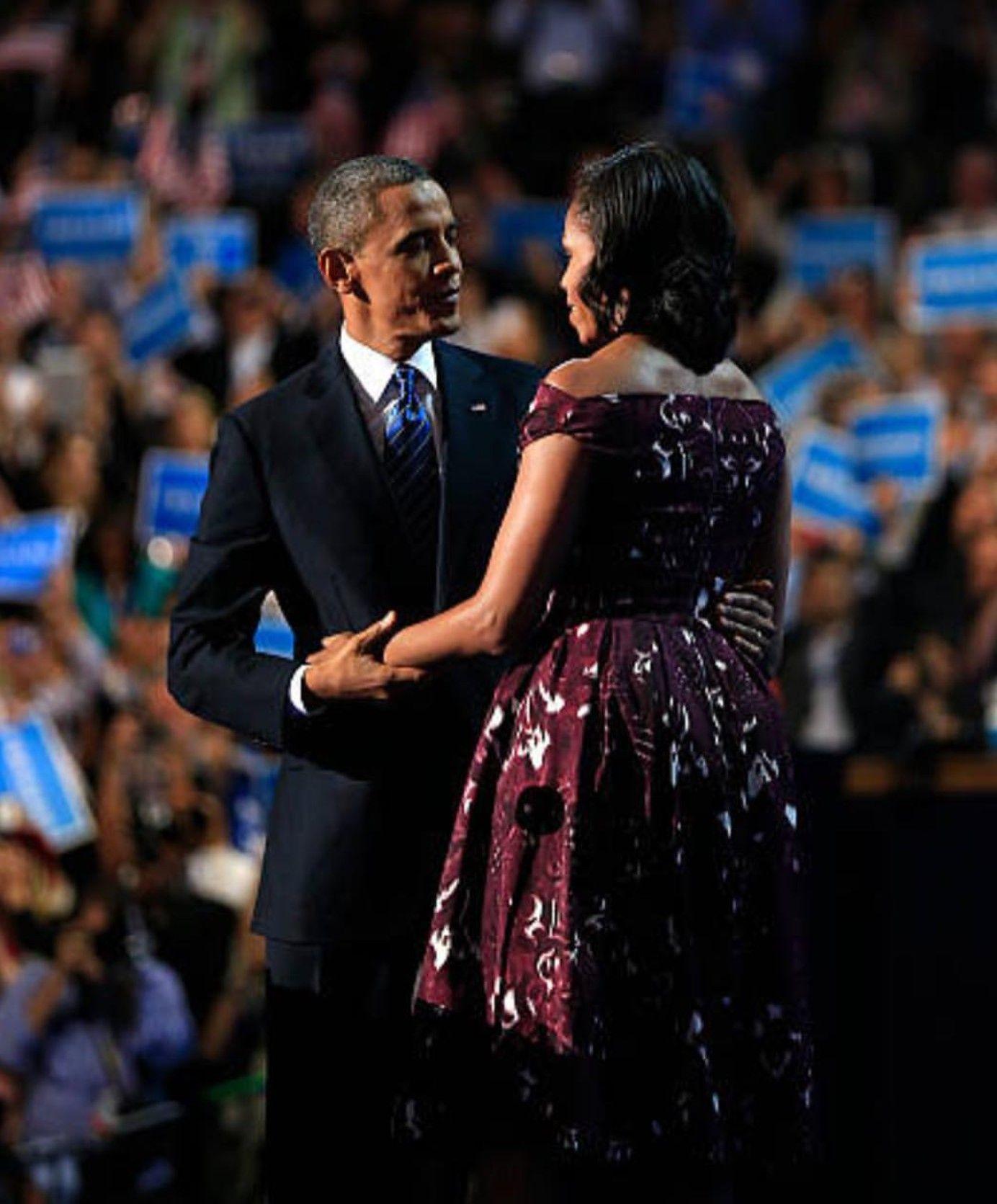 President Barack Obama and FLOTUS Michelle