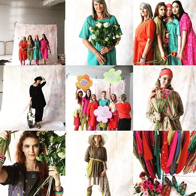 Powerday for spring 2018  #gudrunsworld #gudrunsjoden #greenlife #colorfulwomen #swedishfashion #springstudios