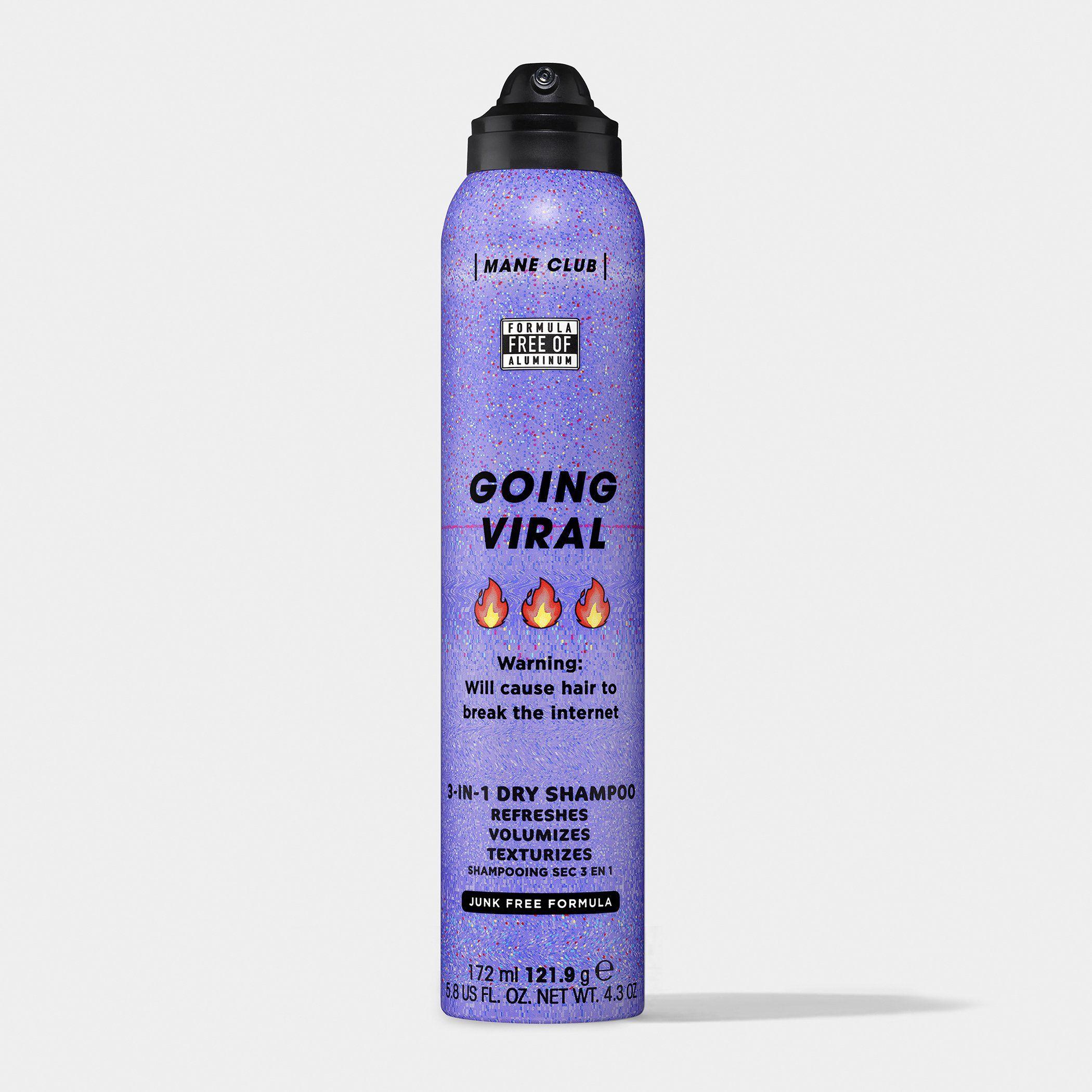 Going Viral Dry Shampoo Smooth Hair Mask Moisturizing Hair Mask