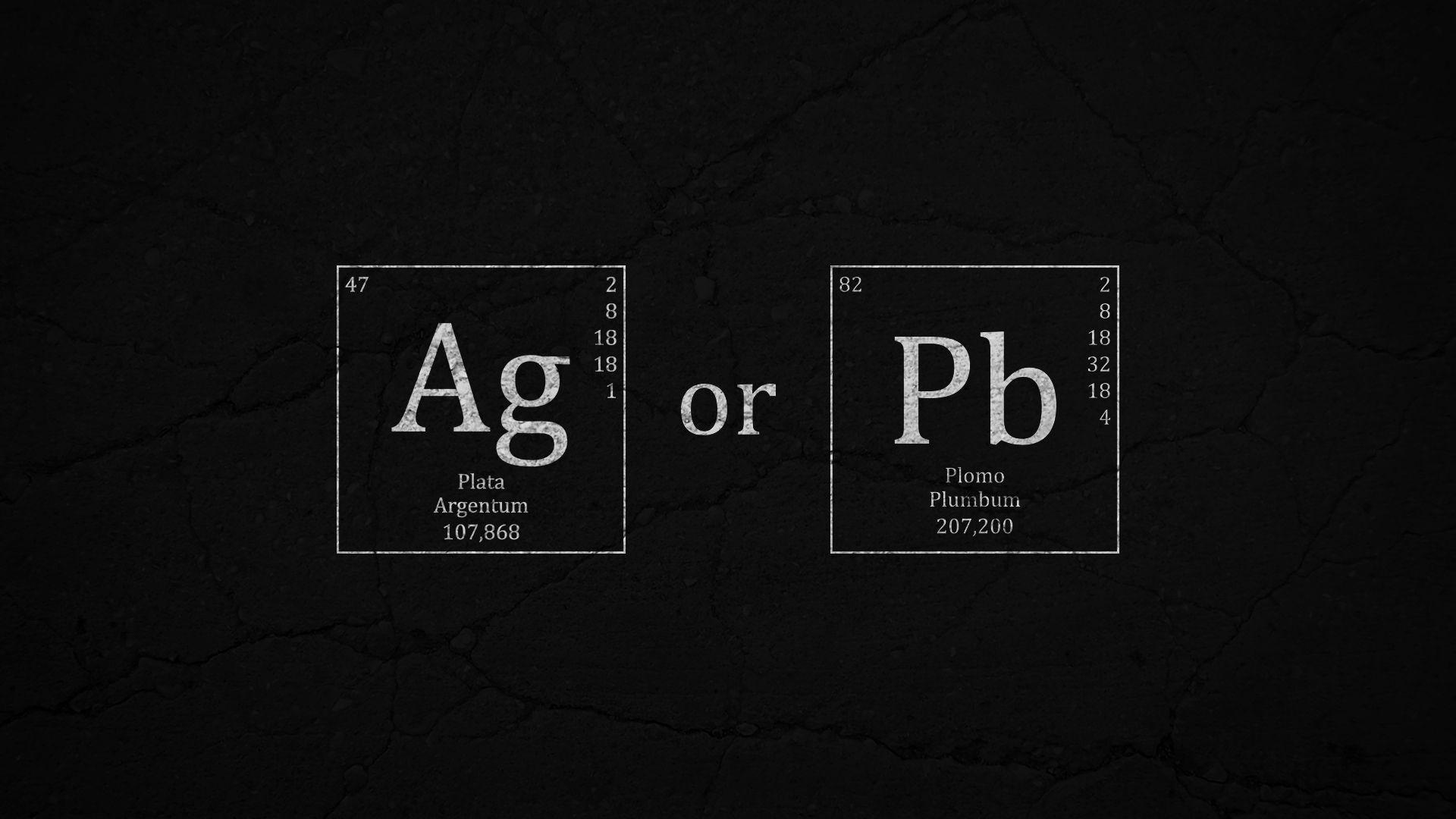 """My scientific view of """"plata o plomo""""."""