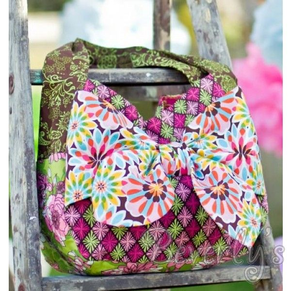 Kaufman Free Sewing Pattern - Luscious Bow Tote -