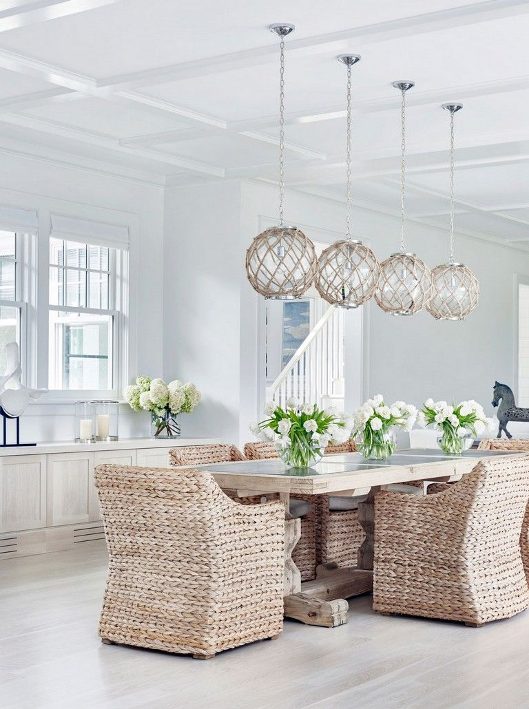 Elegant Home That Abounds With Beach House Decor Ideas: Luxury Dinning Room, Decor, Luxury Dining Room