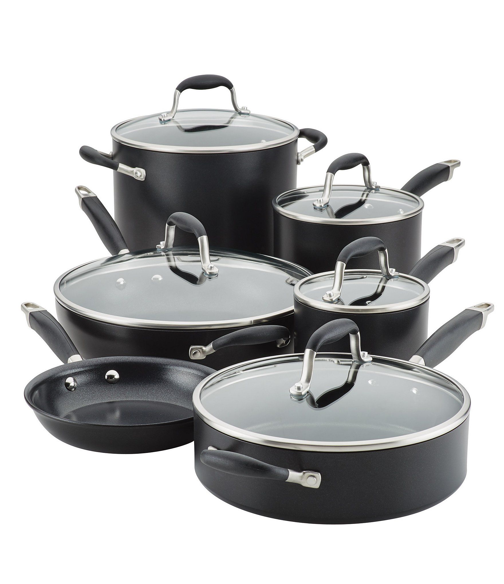 Anolon Advanced Home Hard Anodized Nonstick 11 Piece Cookware Set