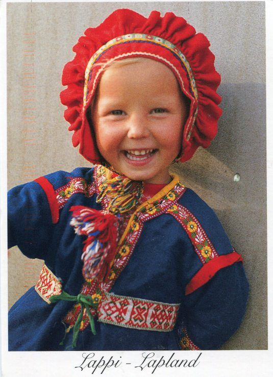 5b9e95d1ddb Finland - Lapland child in Traditional Clothes