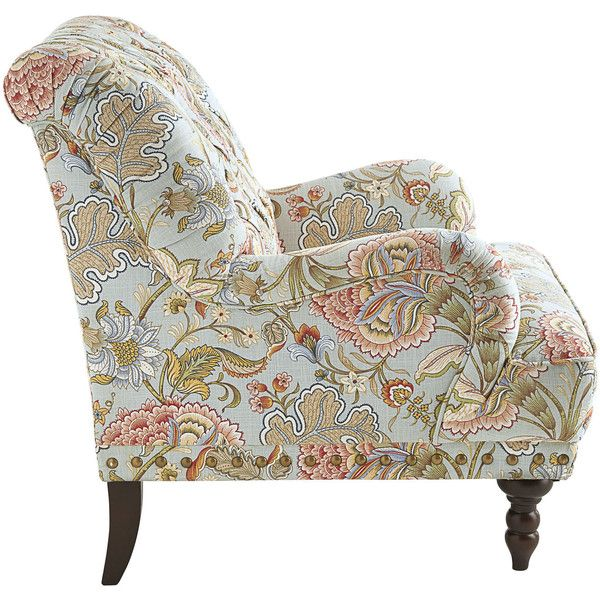 Pier 1 Imports Chas Floral Armchair 500 Liked On Polyvore