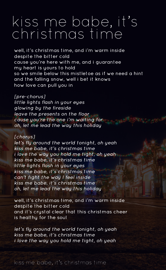 Pin by i s a b e l l a on Owl City Lyrics | Owl city lyrics, New christmas songs, Christmas ...
