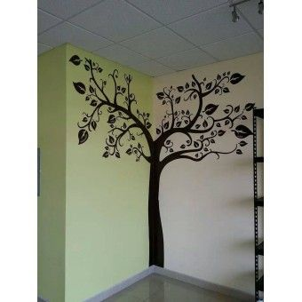 resultado de imagen para decoracion pared arbol