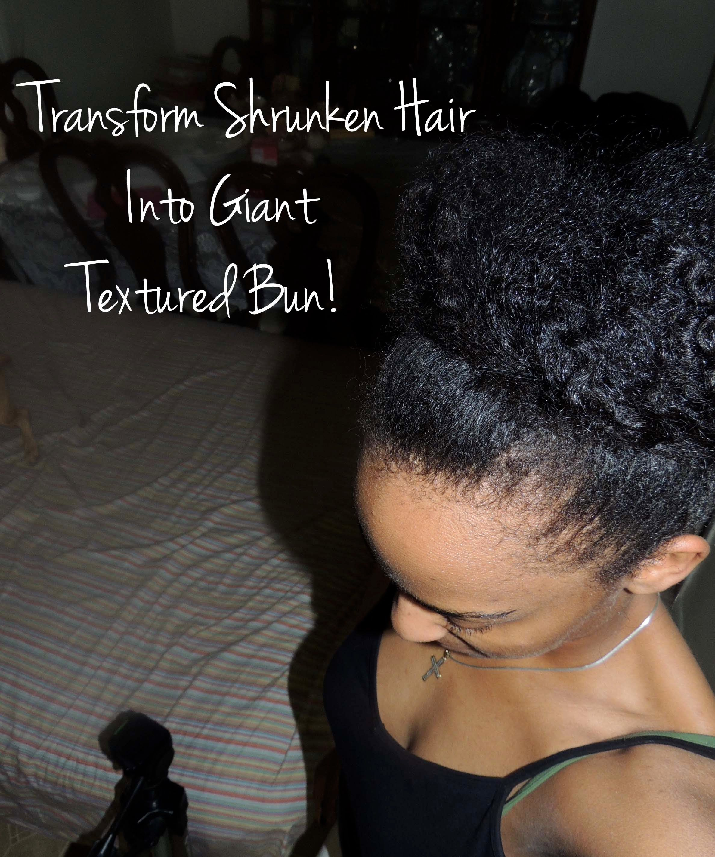 natural hair transform short