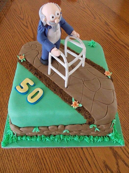 50th birthday cake Cakes for Special Occasions Pinterest