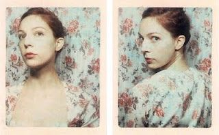"two of Halifax-based artist Meags Fitzgerald's ""Garden State Project"" photo booth images"
