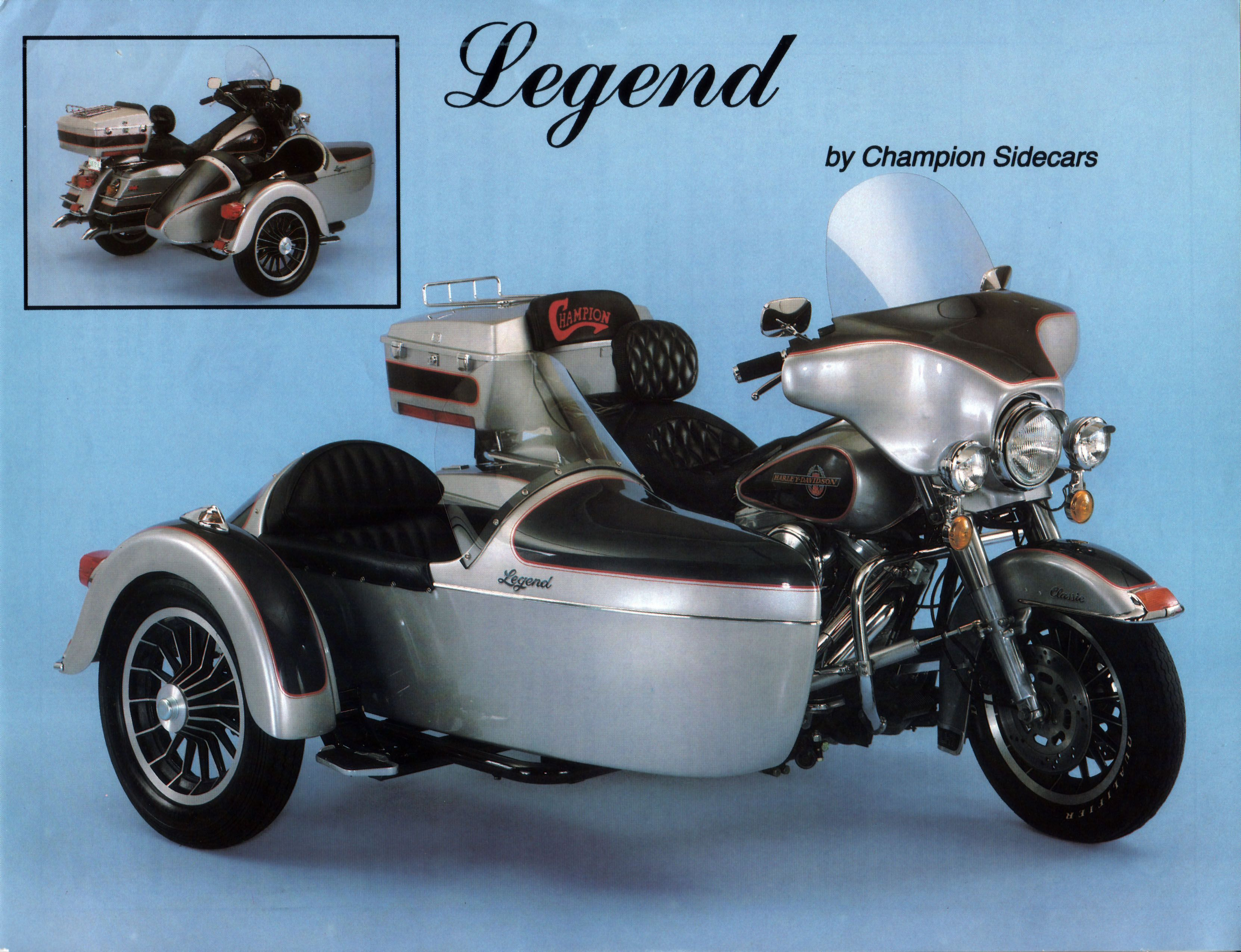 Legend - by Champion Sidecars  | Sidecar Motorcycle