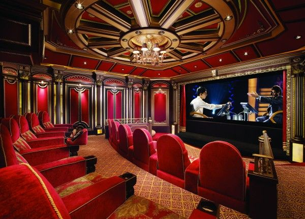 Dream Of This Grandest Of Home Cinemas Home Theater Rooms Home