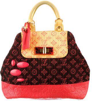 f3effdb9f57c Louis Vuitton Limited Edition Neon Noir Monogram Motard Firebird Bag on  shopstyle.com