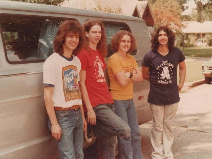 """Pat Metheny News on Twitter: """"Never seen this photo before. From the first Pat Metheny Group tour prob. 1977 (with Lyle Mays, Mark Egan and Dan Gottlieb) /thanks Cerare https://t.co/Fgo2FGXxit"""""""