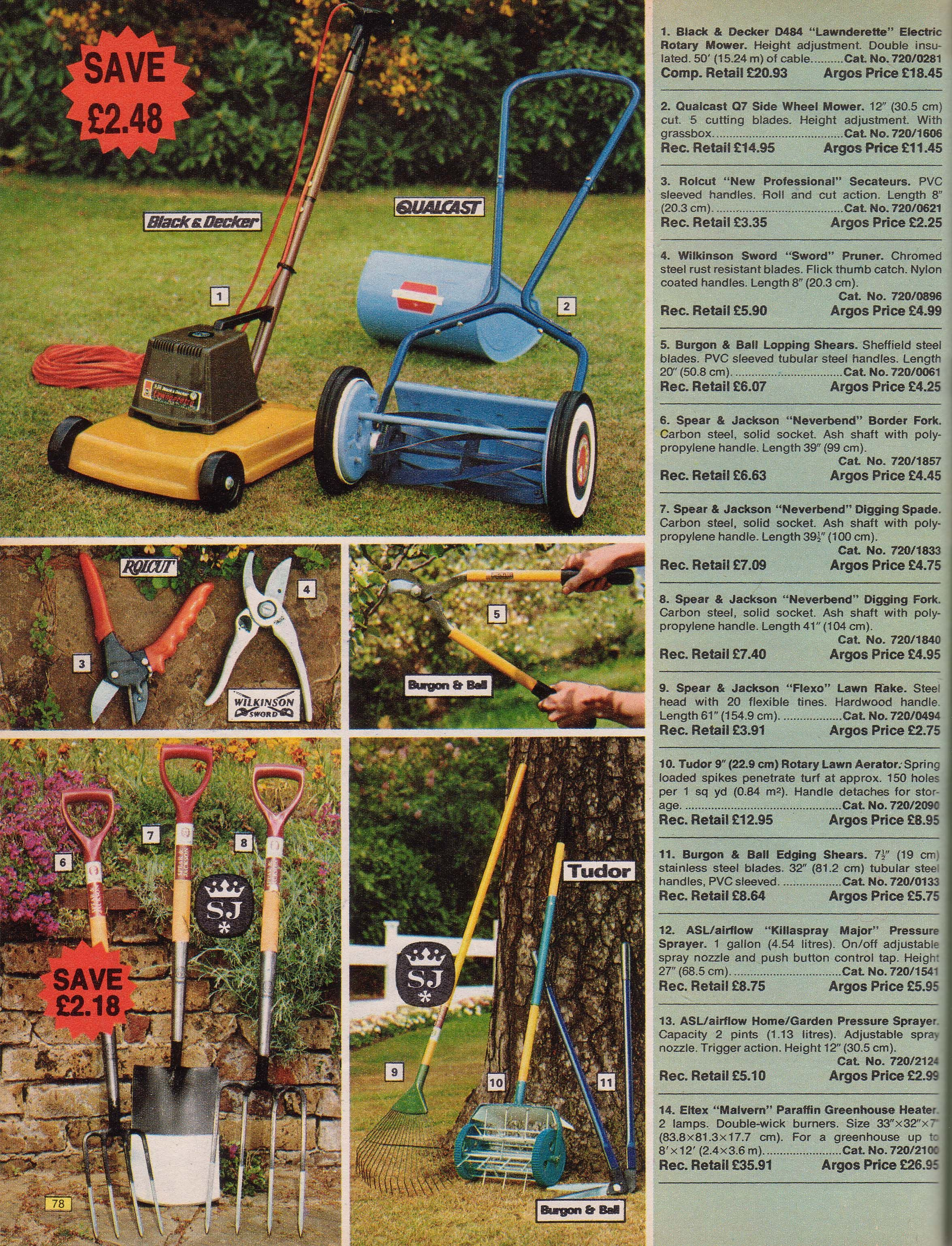 Page 78 | Old Argos catalogue of 1976 | Lawn mower, Outdoor power