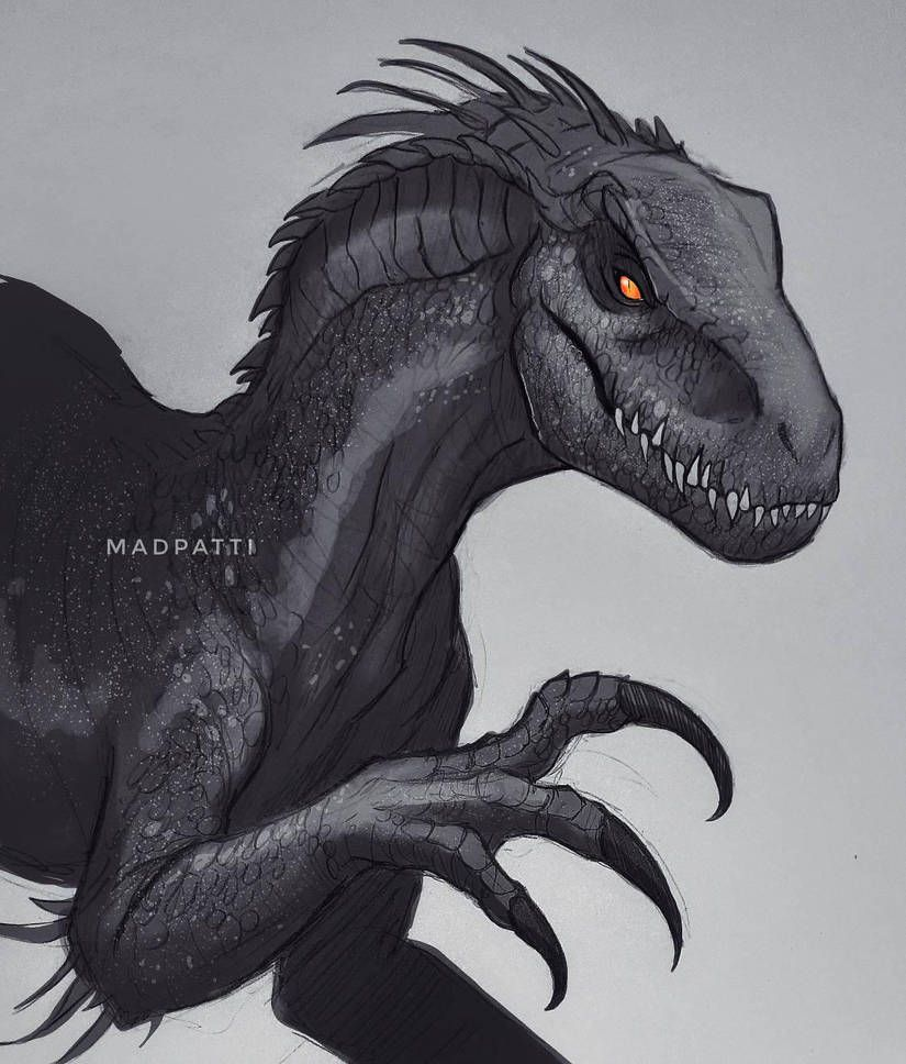 Indoraptor by Madpattii on DeviantArt