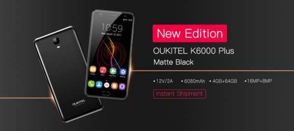 OUKITEL K6000 Plus svelato nella colorazione nero opaca -  OUKITEL K6000 Plus è stato venduto per diversi mesi nelle due versioni in grigio ed oro. Grazie alla batteria enorme, alla carica super rapida ed alla qualità del dispoitivo, il K6000 Plus è uno degli smartphone più apprezzati dagli utenti. Questo mese, OUKITEL ha deciso di rilasciare una nuova... -  https://goo.gl/e9zQdB - #OUKITLEK6000Plus