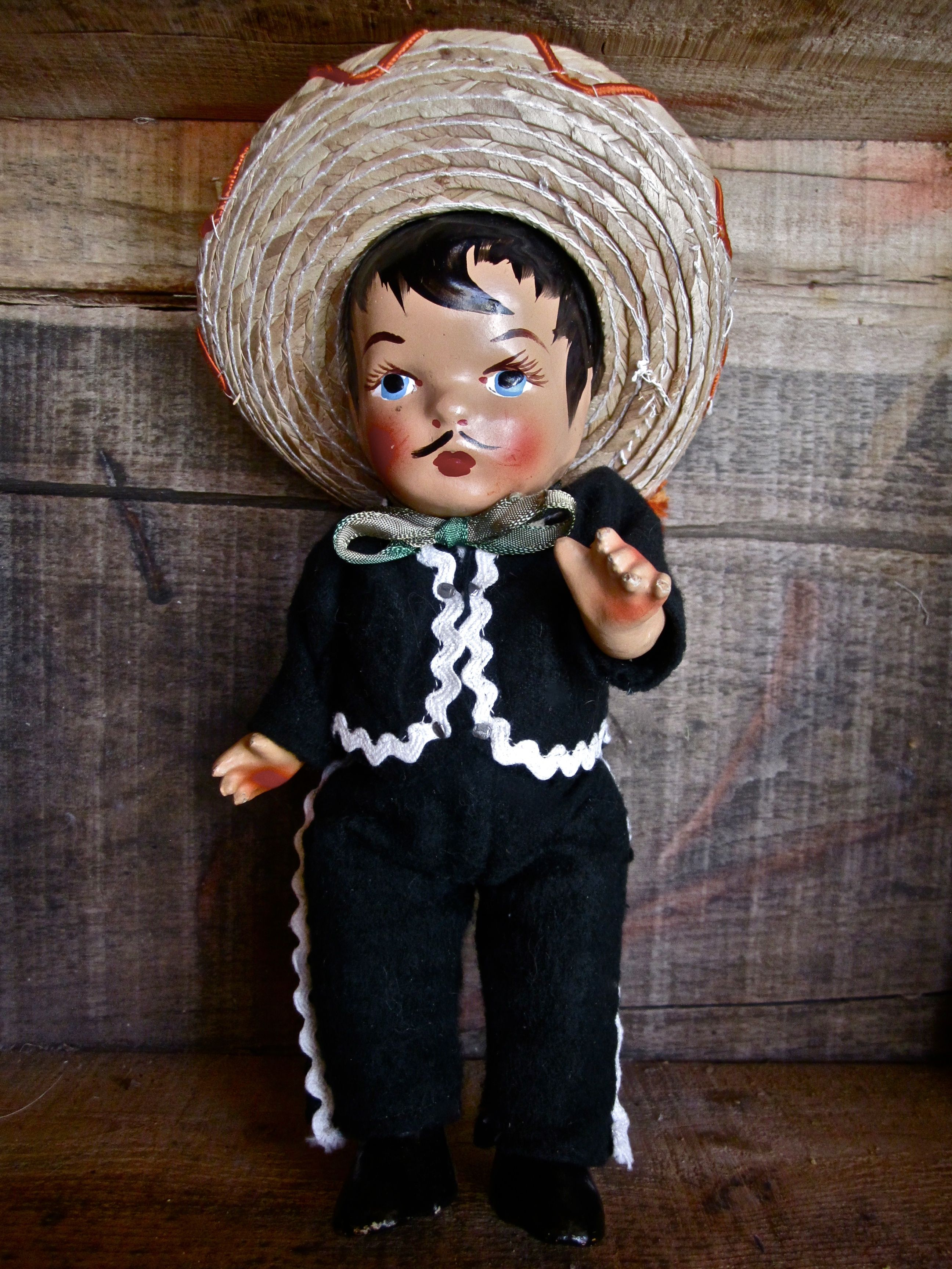 Opinion vintage mexican doll
