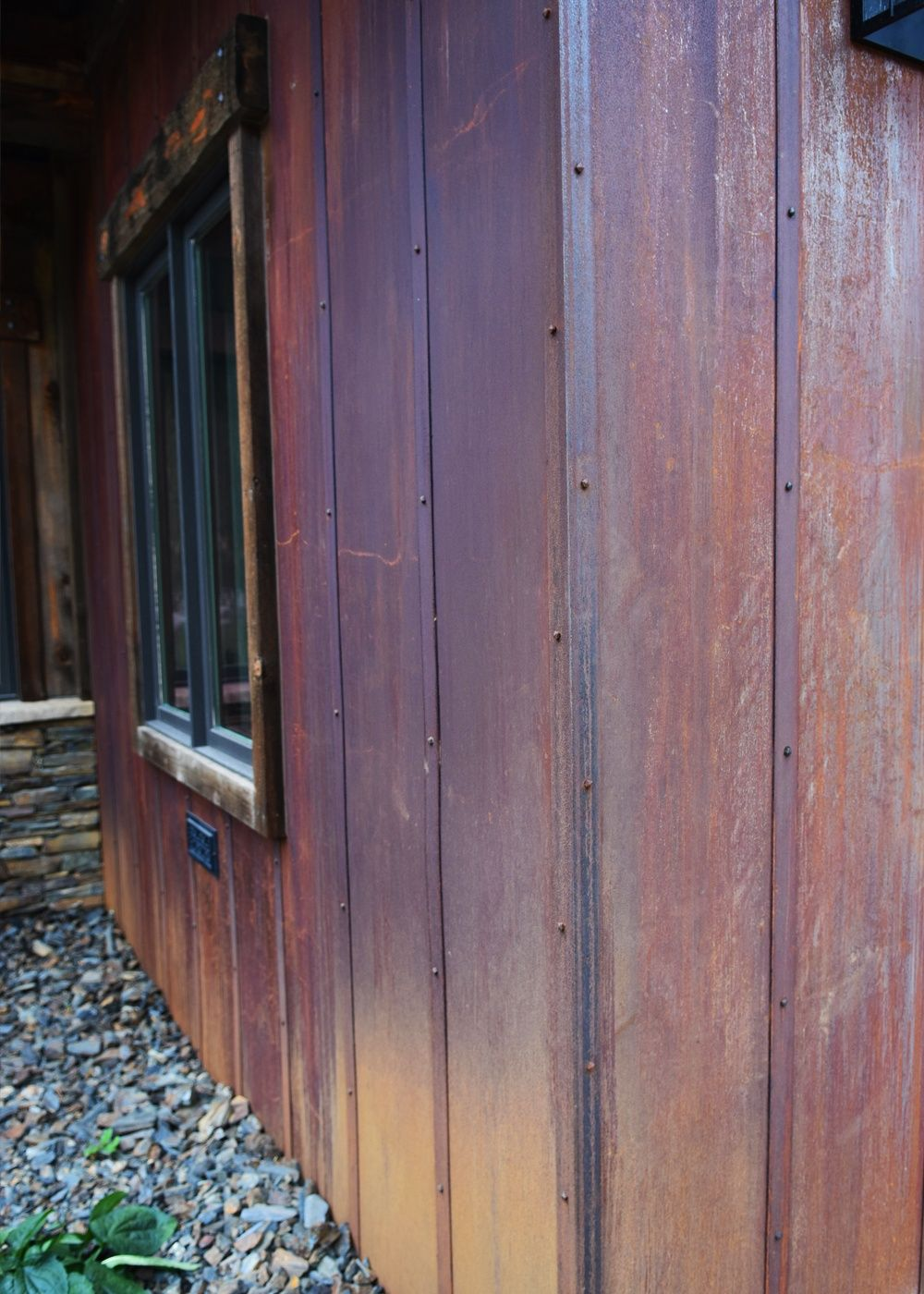Best Rusted Metal Siding Metal Siding House Metal Siding 400 x 300
