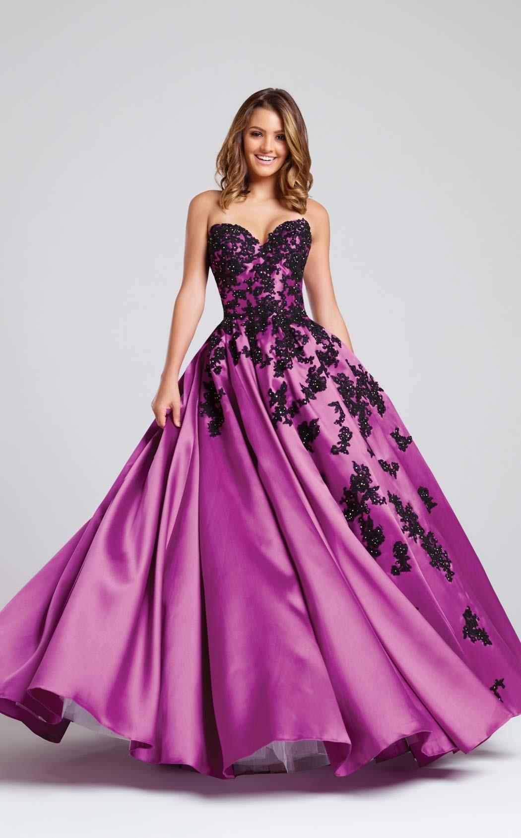 Vistoso Prom Girl Más El Tamaño De Vestidos Ideas Ornamento ...