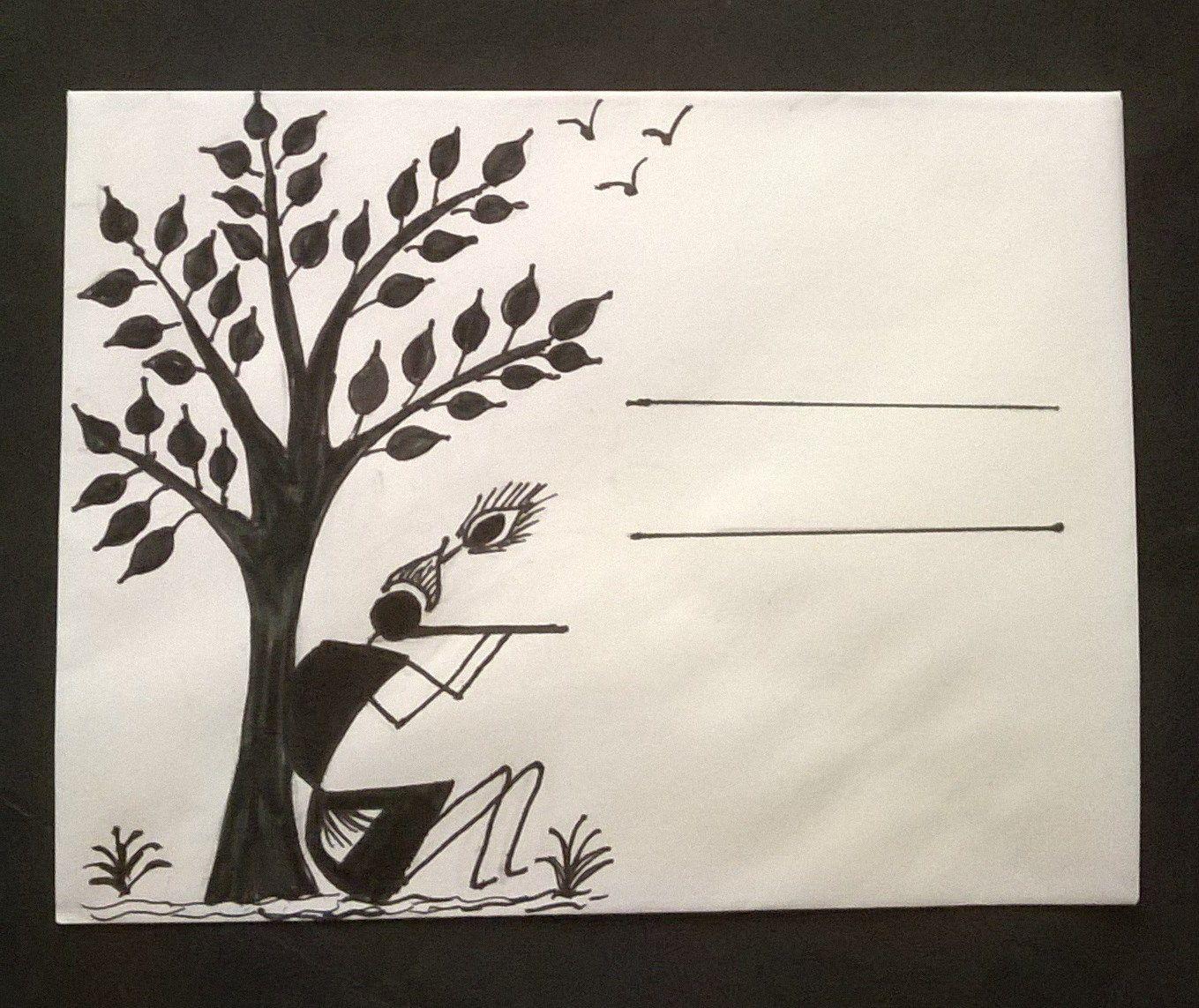 warli envelopes craft for kids rohini pinterest envelopes