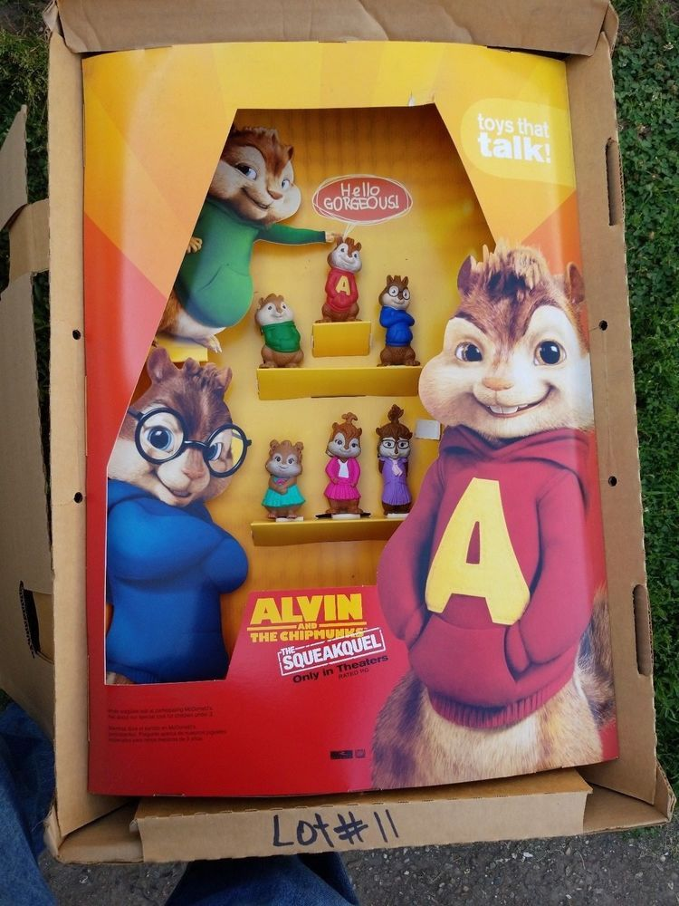 2011 The Chipmunks Chipwrecked Mcdonalds Happy Meal Toy Alvin 1