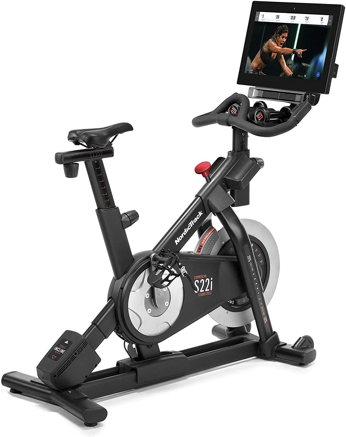 Nordictrack Commercial Studio Cycle S15i And S22i Includes 1 Year Ifit Membership In 2020 Biking Workout Best Exercise Bike Exercise Bike Reviews