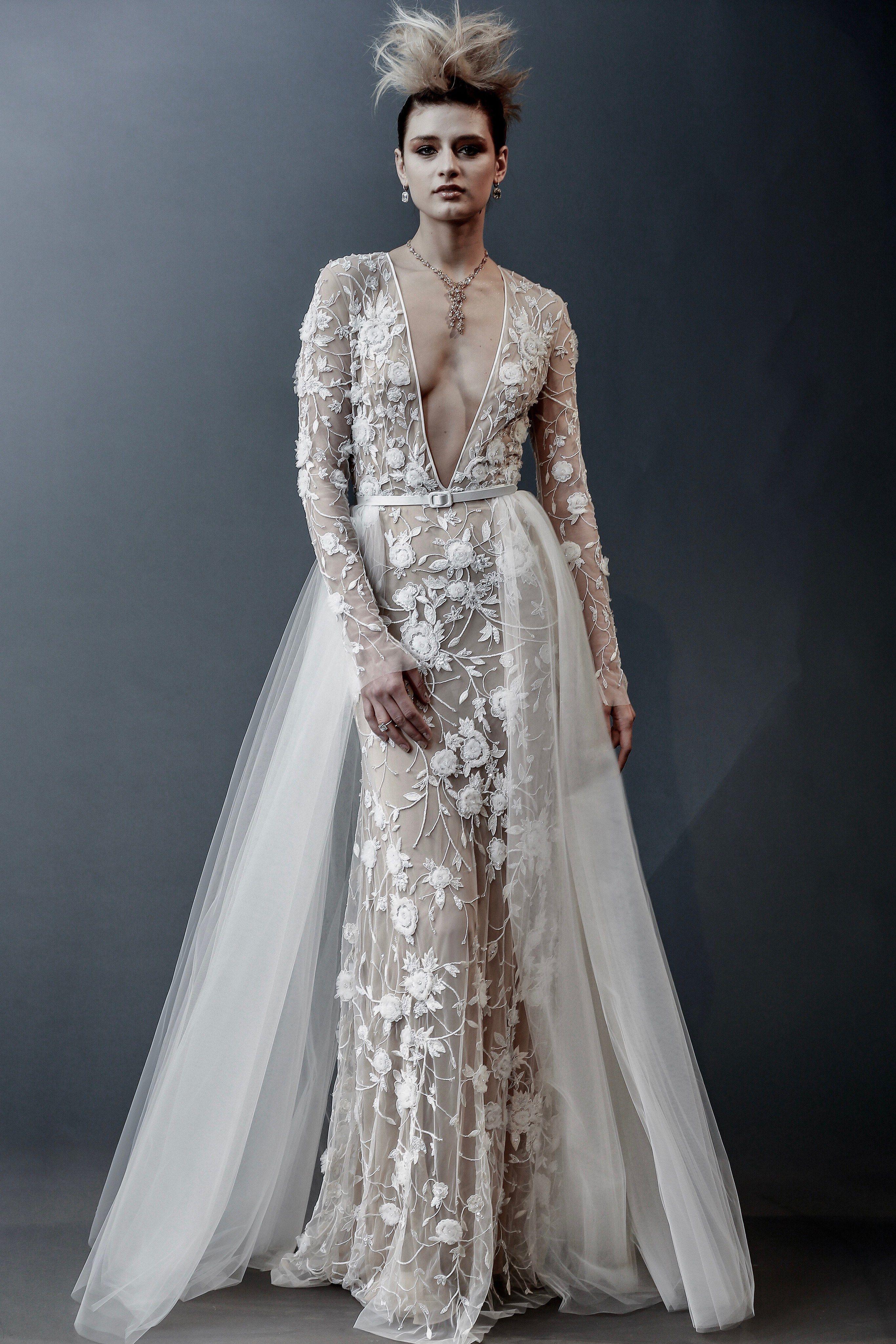 2b8c00690ea Naeem Khan Spring 2019 Bridal New York Collection - Vogue